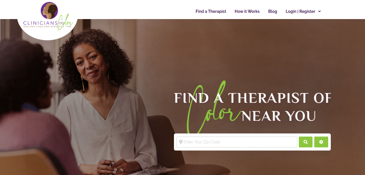 Clinicians of Color Directory - Find a Therapist of Color ...